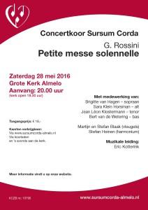 Flyer concert 28mei 2016